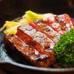 「炭焼き肉と京野菜の店 Nico」の日替わりミニバイキングと鹿児島黒牛の炭焼き