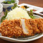 城陽「太呂 菖蒲庵本店」のロースカツ定食、天ぷらうどん